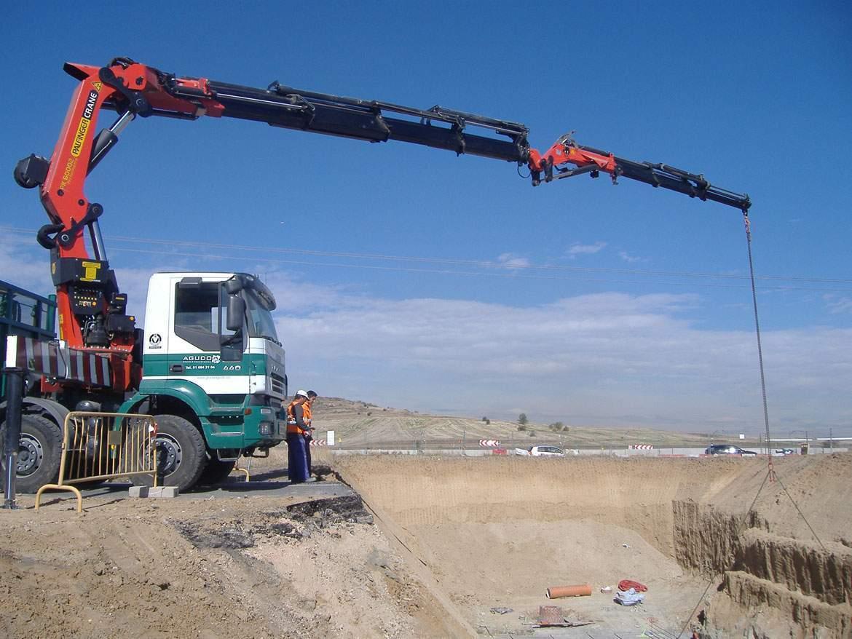 camion grua pk 70 tn