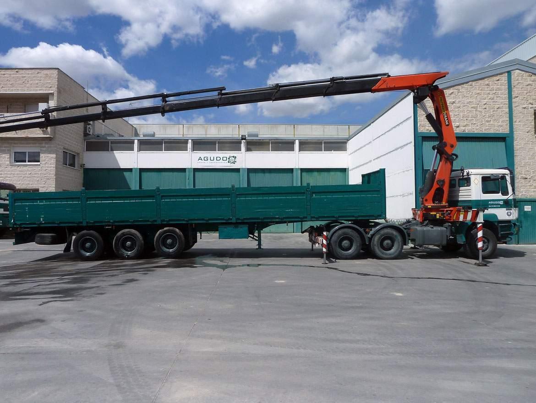 camion trailer pk 40 tn